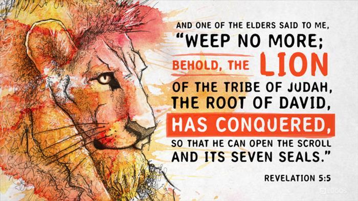 Revelation 5:5 (ESV) - Revelation 5:5 ESV - And one of the elders…   Biblia