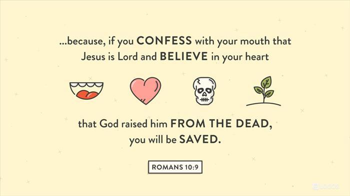 Romans 10:9–10 (ESV) - Romans 10:9–10 ESV - because, if you
