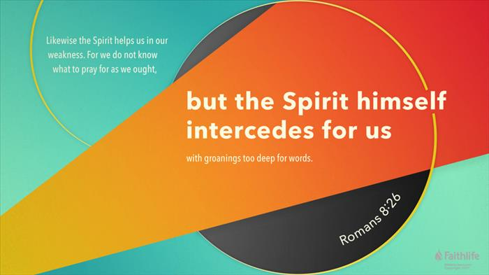Romans 8:26 NKJV - Likewise the Spirit also… | Biblia